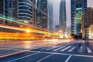 Foto einer Straße